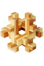 Fridolin IQ- Test Bamboo Puzzle - Construction