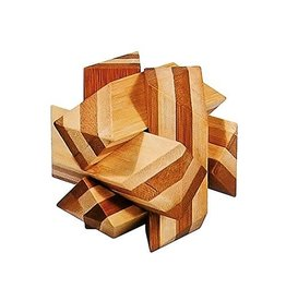 Fridolin IQ-Test Bamboo Puzzle - Angular Knot