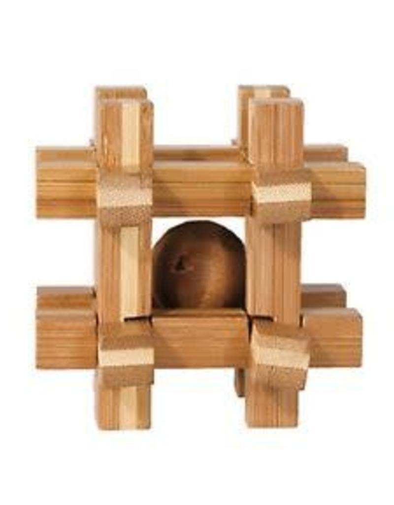Fridolin IQ-Test Bamboo Puzzle 17466