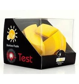 Fridolin IQ-Test Bamboo Puzzle - Yellow Ball