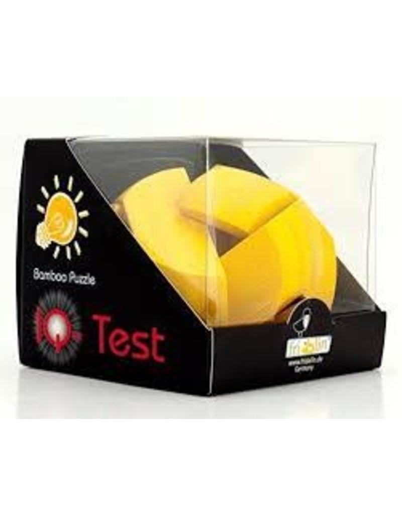 Fridolin IQ-Test Bamboo Puzzle - Yellow Ball