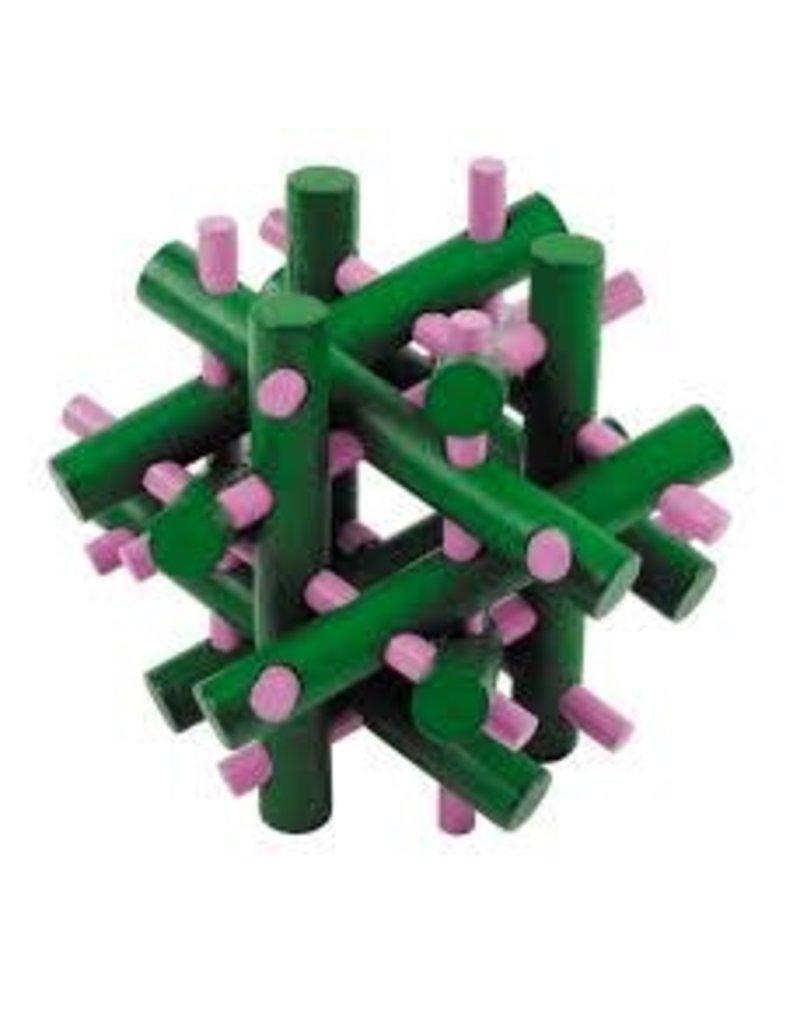 Fridolin IQ-Test Bamboo Puzzle - Distribution Incognito