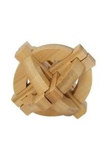 Fridolin IQ-Test Bamboo Puzzle - Double Plate
