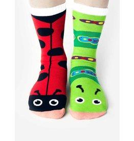 Geyser Guys Pals  Socks 4-8 Years Ladybug & Caterpillar