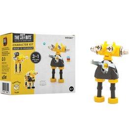 Fat Brain Toys OffBits Character Kit Infobit (yellow) FA155-4
