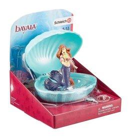 Schleich Schleich Mermaid with Baby Seahorse in Shell