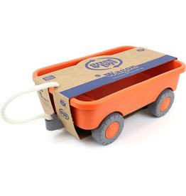 Green Toys Wagon - Orange