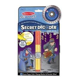 Melissa & Doug Secret Decoder - Game Book