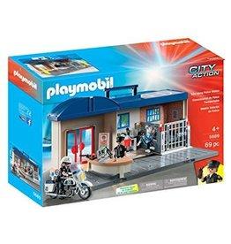 Plamobil Take Along Police Station