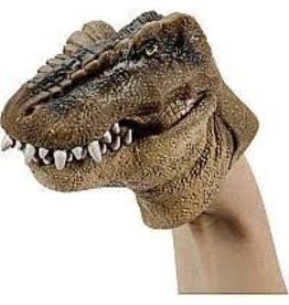 Schylling Toys Plastic Stretchy Dinosaur Hand Puppet (Assorted)