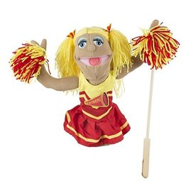 Melissa & Doug Puppet - Cheerleader
