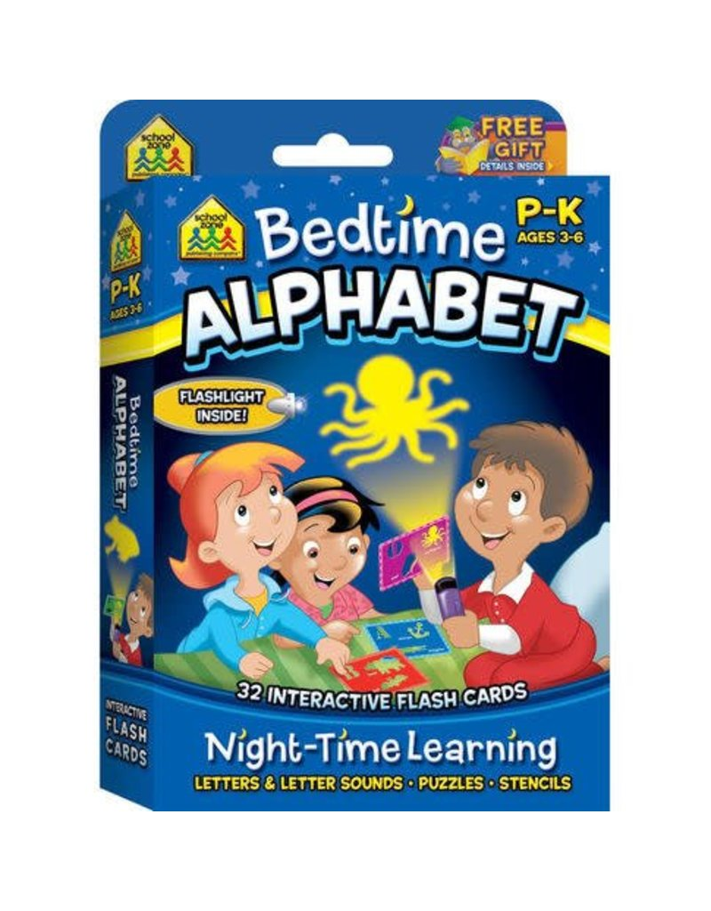 School Zone Bedtime Alphabet Interactive Flash Cards