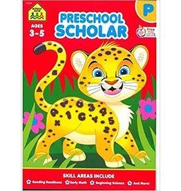 School Zone Workbook-Preschool Scholar - Ages 3-5