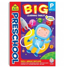 School Zone BIG Learning Tablet-Preschool