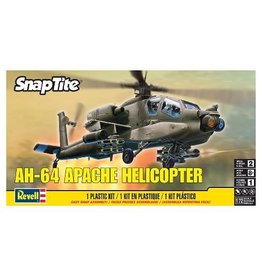 Revell Snap-Tite AH-64 Apache Helicopter