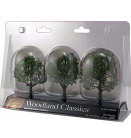 "Woodland Scenics Classics Tree, Sun Kissed 4-5"" (3)"