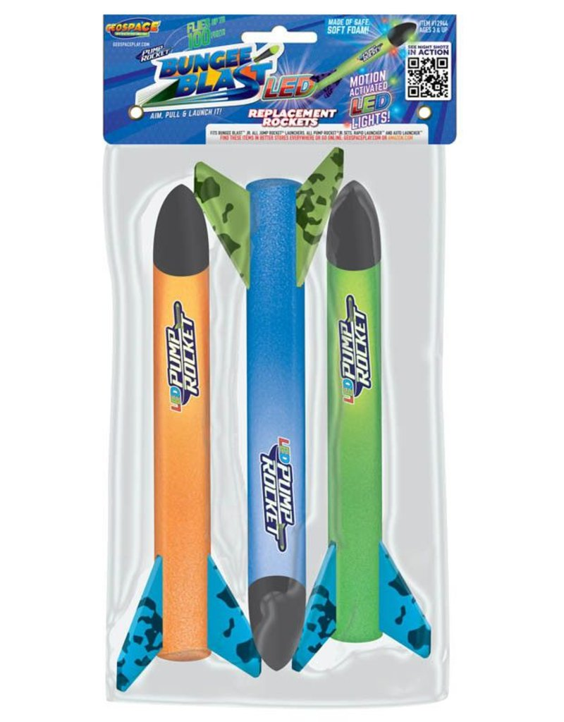 Geospace Bungee Blast LED Replacement Rockets
