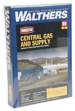 Walthers Central Gas & Supply -- Kit