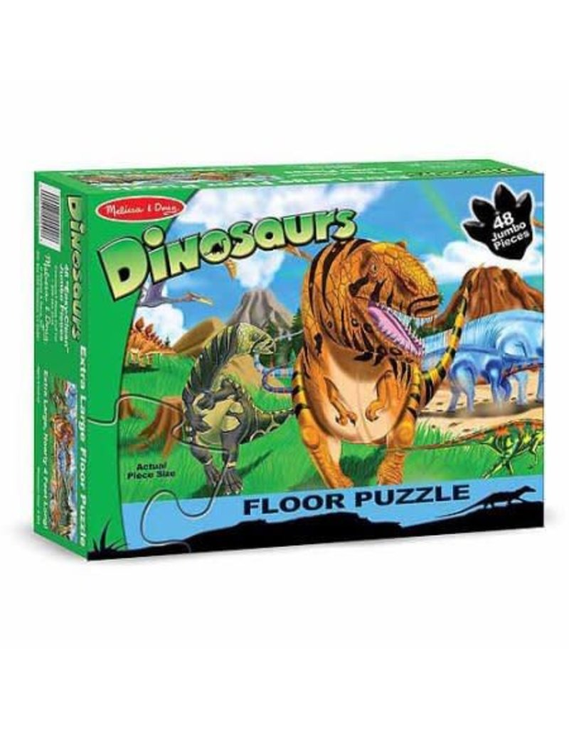 Melissa & Doug Land of Dinosaurs Floor (48 pc)