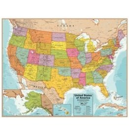Round world Interactive United States Map