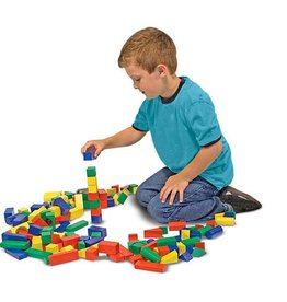 Melissa & Doug 100 Piece Wood Block Set