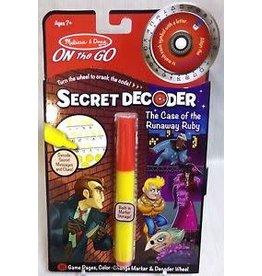 Melissa & Doug Secret Decoder - Case of the Runaway Ruby