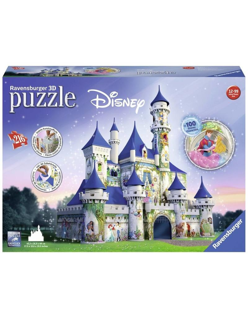 Ravensburger 3D Disney Castle (216 pc Puzzle)