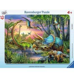 Ravensburger Dinosaurs at Dawn (45 pc Puzzle)