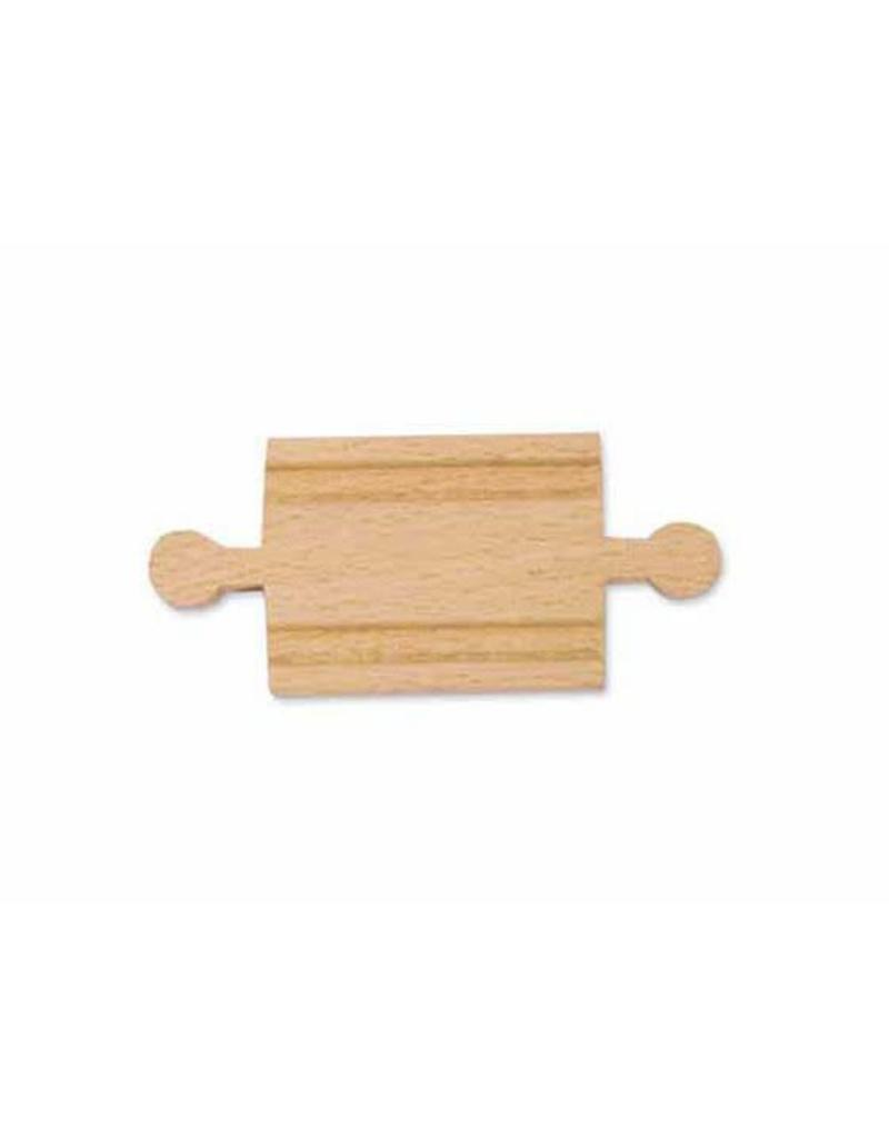 "Melissa & Doug 2"" Wooden Straight Track - Male"