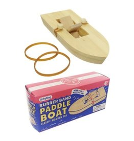 Schlylling Paddle Boat - Rubber Band