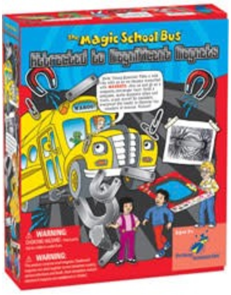 The Young Scientist Club The Magic School Bus: Rides Again Attracted to Magnificent Magnets
