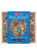 Melissa & Doug Bead Bouquet Deluxe Wooden Bead Set