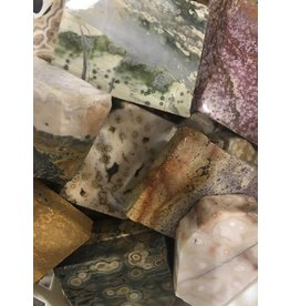 Squire Boone Village SEA JASPER SLAB POLISHED FACE