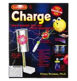 Norman & Globus Science Wiz Activity Book - Charge