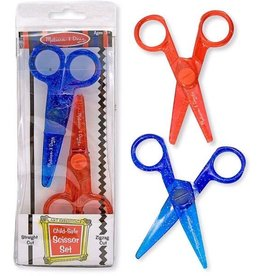 Melissa & Doug Child-Safe Scissor Set (2 pcs)