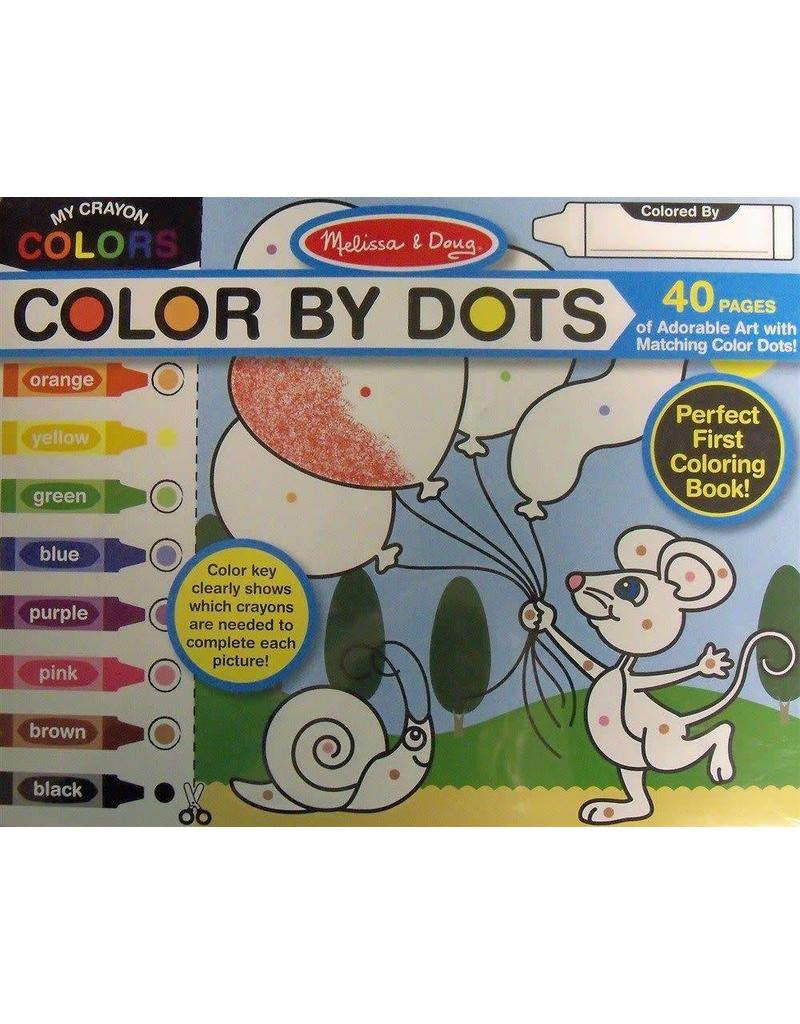 Melissa & Doug Color by Dots