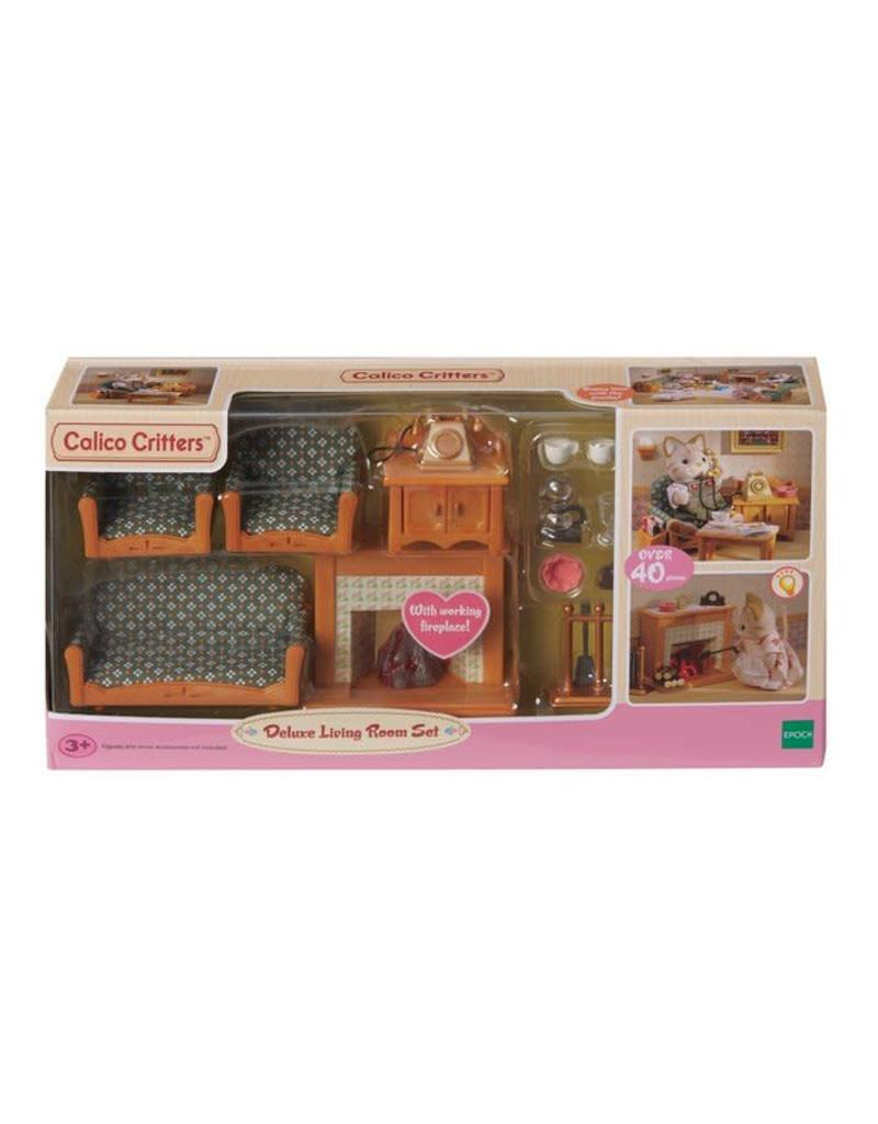 international playthings Calico Critters Deluxe Living Room Set