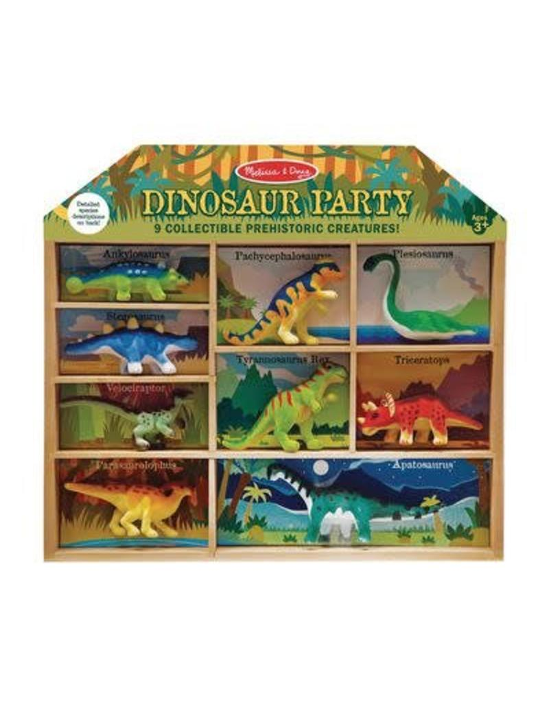 Melissa & Doug Dinosaur Party Play Set