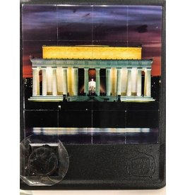 Turn Off the TV Sliding Tile Puzzles The Nation's Capitol Lincoln Memorial