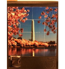 Turn Off the TV Sliding Tile Puzzles The Nation's Capitol Cherry Blossoms