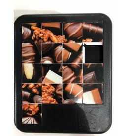 Turn Off the TV Sliding Tile Puzzles Sweet Chocolate