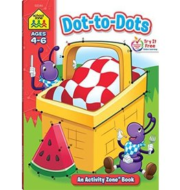 School Zone Dot to Dots Ages 4-6
