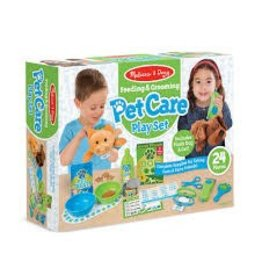 Melissa & Doug Feeding & Grooming Pet Care Play Set