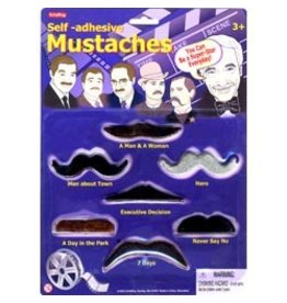 Schylling Toys Self-Adhesive Mustaches