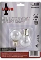 Lava Lite Lava Lamp - 25 Watt Bulb 2 Pack