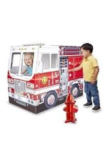 Melissa & Doug Fire Truck Indoor Play