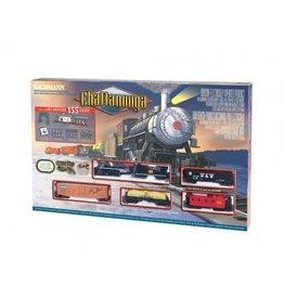 Brachmann BACHMANN CHATTANOOGA & ST LOUIS 155pc MODEL TRAIN SET