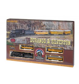 Bachmann BACHMANN DURANGO & SILVERTON MODEL STEAM TRAIN SET