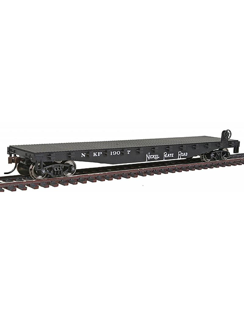 Walthers Nickel Plate Rd Flatcar - Walther's Trainline HO