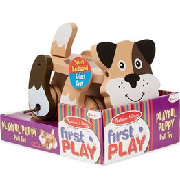Melissa & Doug Playful Puppy Pull Toy